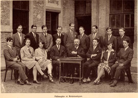 classe de terminale 1929/30