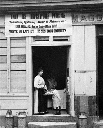 boutique Maggi tenue par les coopérateurs