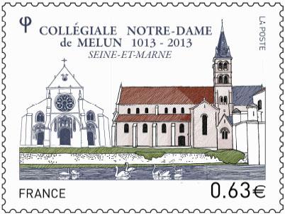 timbre Notre-Dame de Melun