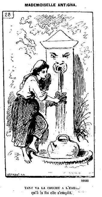 caricature de 1875