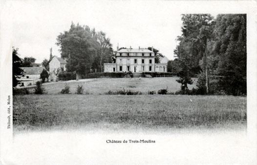 château de Trois-Moulins